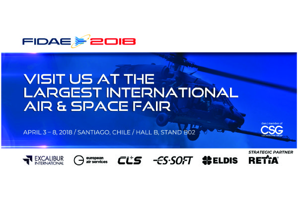 We are at FIDAE exhibition in Chile!